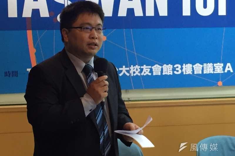 2016-10-03-Taiwan for WHO論壇-林廷輝-遠景基金會副執行長-杜兆倫攝