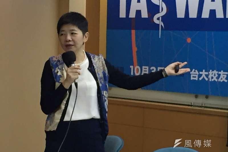 台灣醫界聯盟執行長林世嘉說,反讓國際間認為我並不迫切成為WHA會員國,「倘若當年台灣爆發SARS時,病毒擴散到其他國家,成為國際防疫的『麻煩製造者』,參與WHA會比較順利。」(資料照,杜兆倫攝)