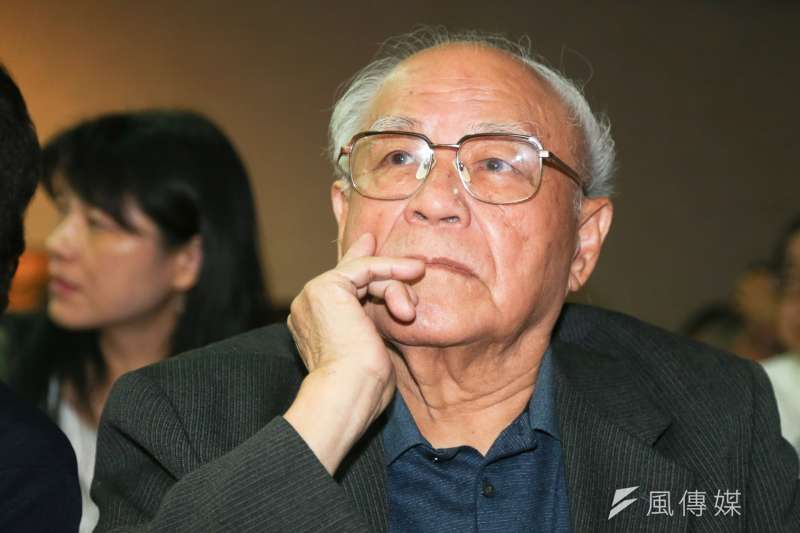 台灣統左派代表性人物陳明忠21日早上辭世,享壽90歲。(資料照,陳明仁攝)