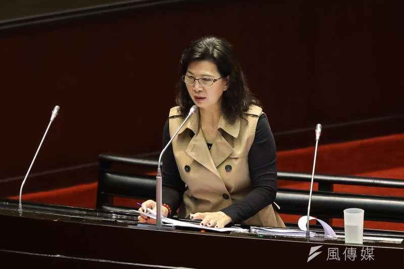 20161013-親民黨立委周陳秀霞13日於立院針對司法院長被提名人許宗力質詢。(顏麟宇攝)
