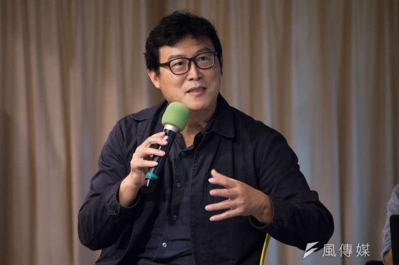 立委姚文智出席,第五屆河右岸論壇─「亞洲‧矽谷TAIPEI RUN」。(李振均攝)