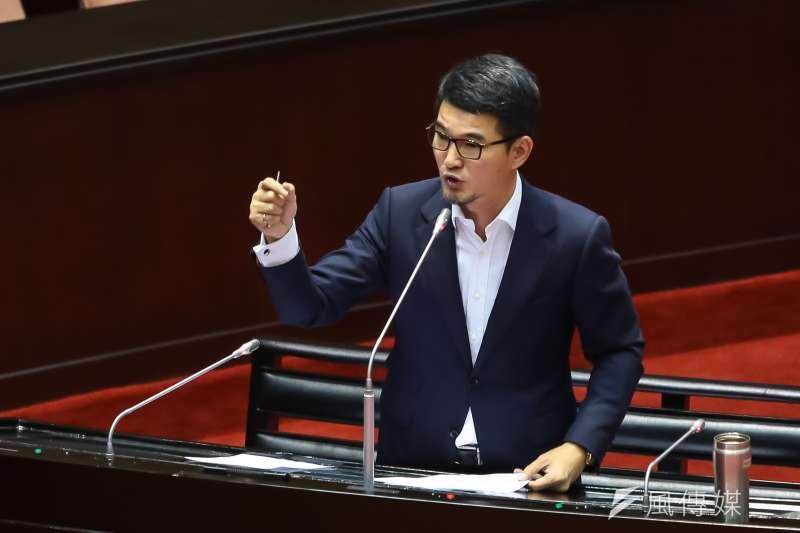 20161018-民進黨立委劉建國18日於立院質詢。(顏麟宇攝)