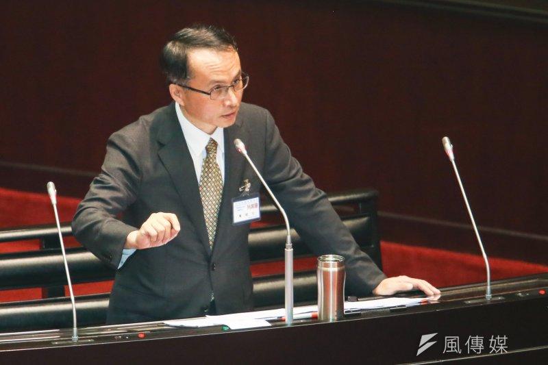 立法院對大法官被提名人行使同意權,被提名人黃昭元列席。(陳明仁攝)