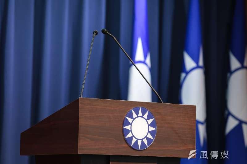內政部評估報告建議國民黨更改黨徽,引發爭議。(資料照,顏麟宇攝)