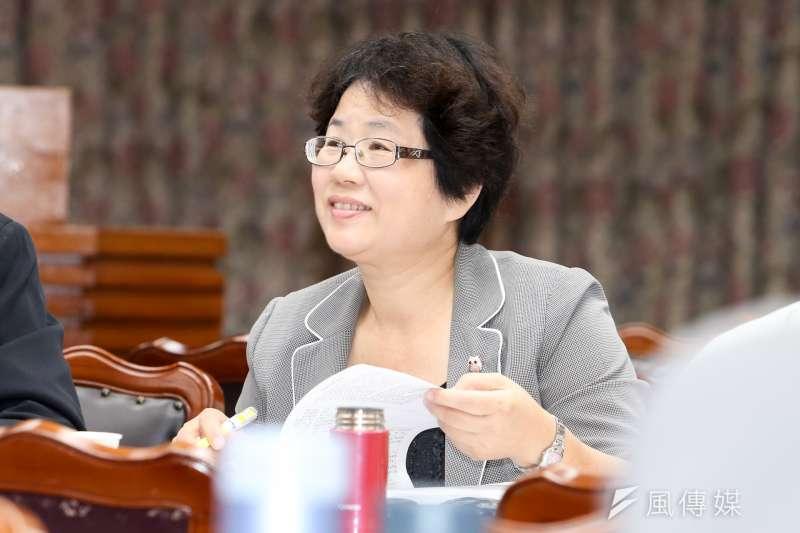 20161020-終身教育司長黃月麗(陳明仁攝)
