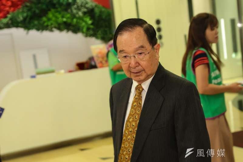 總統府資政吳澧培表示,在有其他選擇的情況下,台南市長賴清德接任行政院長是勇敢、無私的決定。(資料照,顏麟宇攝)