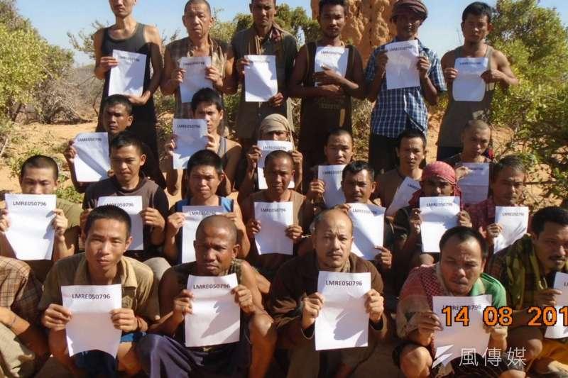 2012年3月遭索馬利亞海盜挾持的Naham 3漁船,船上26名亞洲人質在經歷5年的囚禁後終於獲得釋放。(取自海洋無海盜網站)