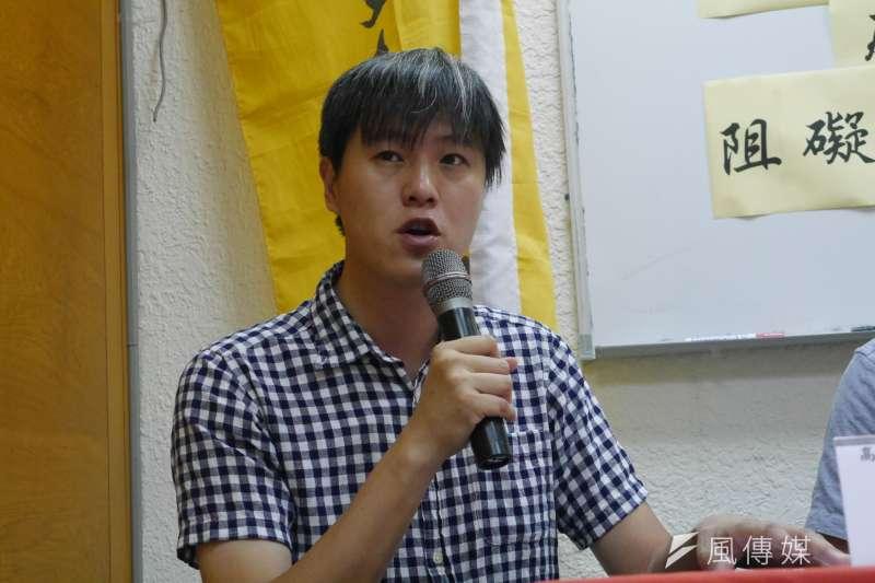高教工會27日召開記者會,呼籲新政府改善私校教師待遇,林柏儀(洪與成攝)
