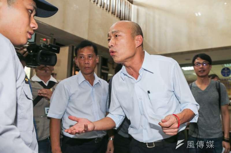 北農違反進用董事三親等人員,北市府將追究總經理韓國瑜有無違法失職責任。(資料照,陳明仁攝)