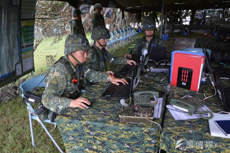 陸軍日前成立「聯合兵種營」,目前處於驗證階段,軍方規劃將進行1年編裝測試。(資料照,吳明杰攝)