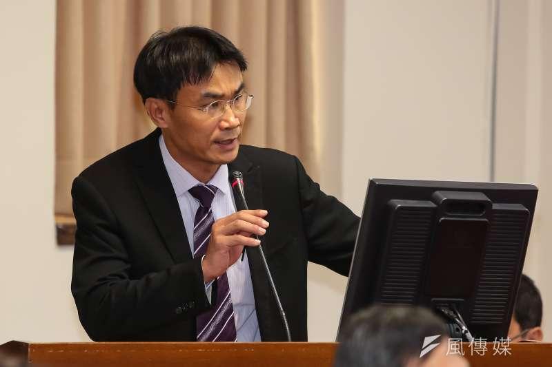20161102-農委會副主委陳吉仲2日於立院經濟委員會備詢。(顏麟宇攝)