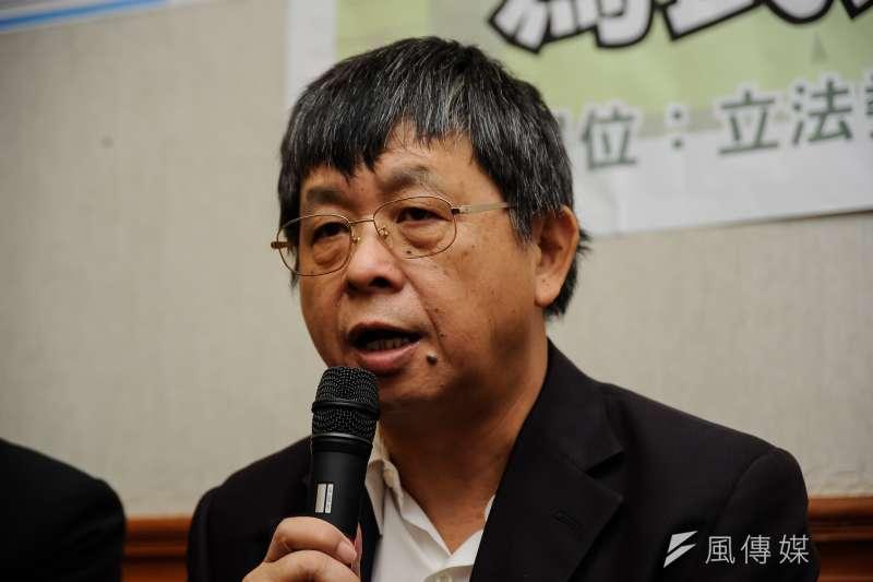 民進黨立委吳焜裕表示,他不反對設立食安大樓,但希望大樓蓋出來後,能在食安事件發生時發揮功用,並在政策決定上成為重要科學證據 。(資料照,甘岱民攝)