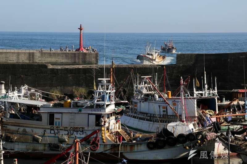 台灣200漁港有水泥化問題,行政院打算轉型為生態漁港。圖為大溪漁港。(資料照片,余志偉攝)
