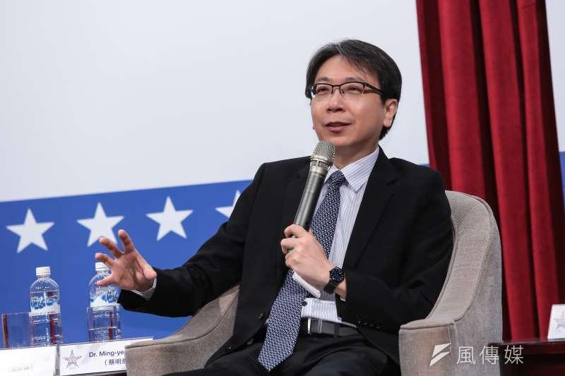 國安會副秘書長25日內定由中興大學國際政治所教授蔡明彥接任,專責處理國際事務相關領域。(資料照,顏麟宇攝)