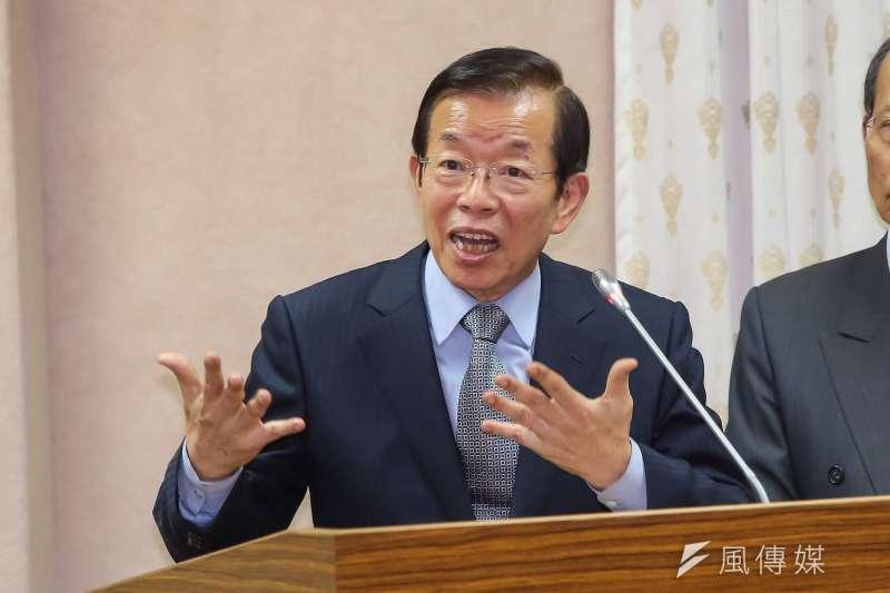 駐日代表謝長廷16日參加餐會晚宴,對於巴拿馬與台灣斷交,表示台灣將以堅實外交開拓國際社會的生存空間。(資料照,顏麟宇攝)