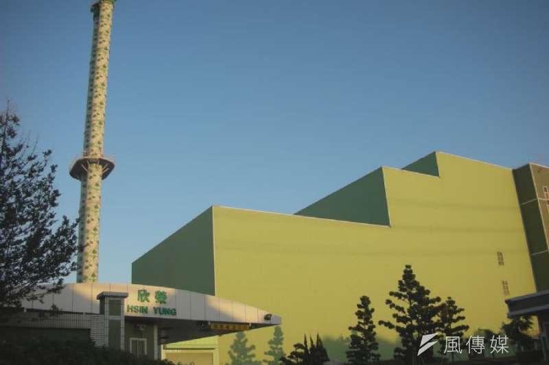 桃園市唯一一間焚化廠欣榮焚化廠在3日發生火警,導致廠房設備受損,讓全市上千噸的垃圾量無法處理。(桃園市環保局)