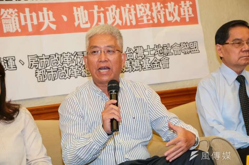 台北市前副市長張金鶚(見圖)指出,其他部會應與央行積極推動打炒房措施,才能去除炒房預期心理。(資料照,顏麟宇攝)