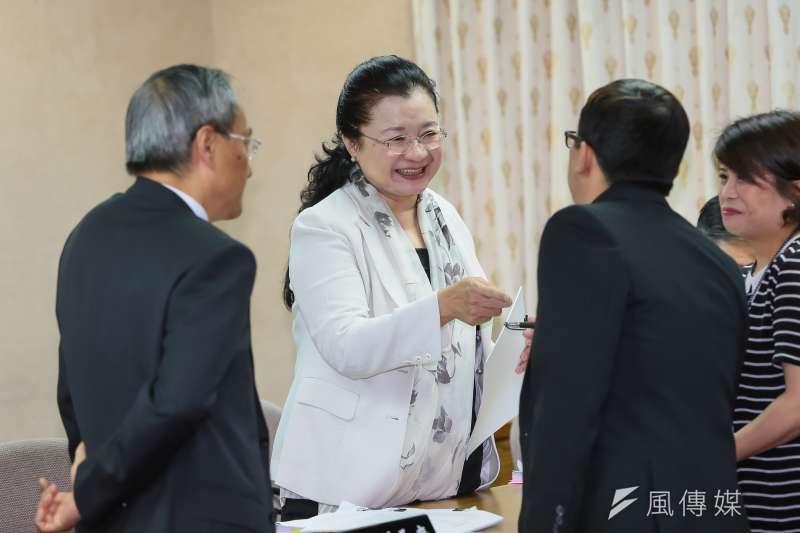20161121-僑委會副主委田秋堇21日於立院備詢。(顏麟宇攝)