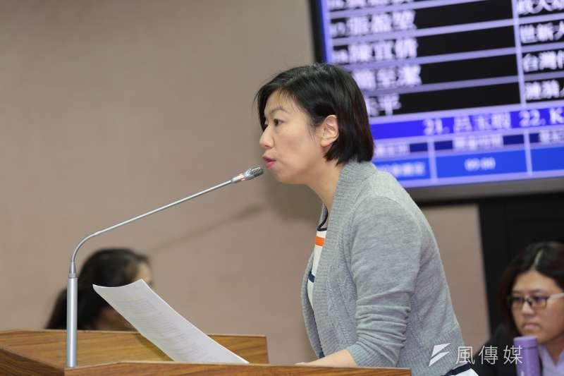 20161128-民進黨立委林靜儀28日出席立法院司法法制委員會公聽會。(顏麟宇攝)