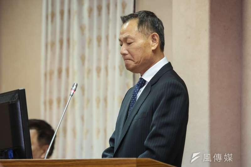 20161130-退輔會主委李翔宙30日於立院備詢。(顏麟宇攝)