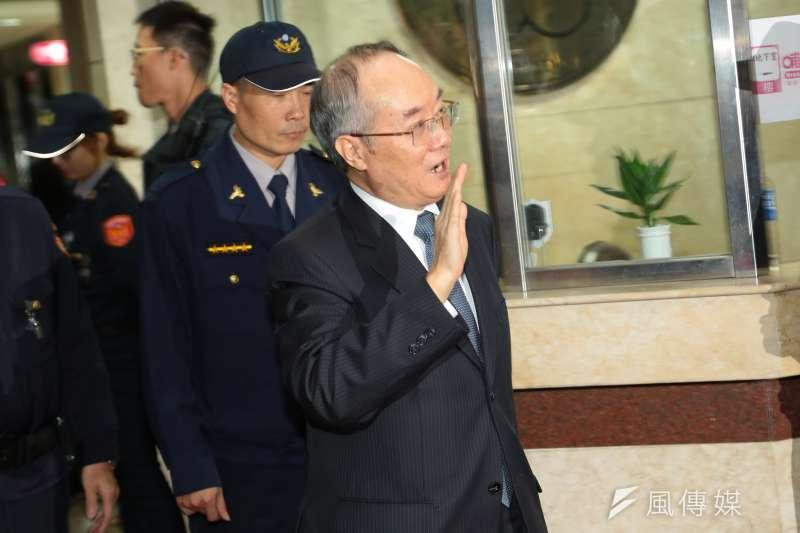 前檢查總長黃世銘當年偵辦三中案並未搜索國民黨。(顏麟宇攝)