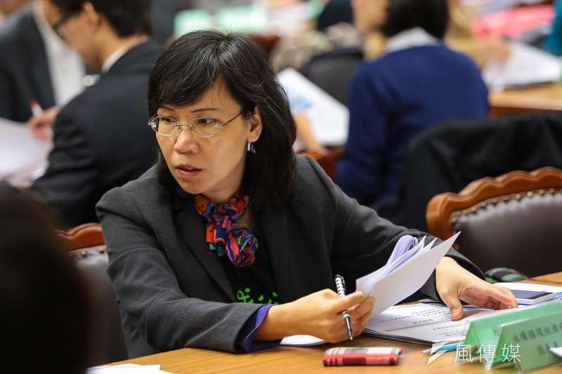 20161202-地球公民基金會副執行長王敏玲2日出席「推動循環經濟打造台灣產業新引擎 」公聽會。(顏麟宇攝),