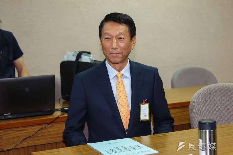 20161205-國防部副部長李喜明5日於立院外交國防委員會備詢。(顏麟宇攝)