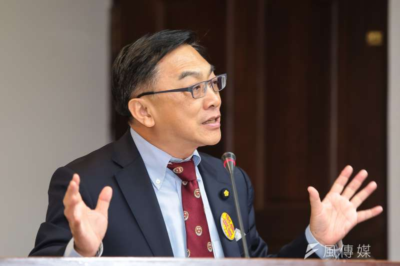 20161205-國民黨立委陳宜民5日於立院衛環委員會質詢。(顏麟宇攝)
