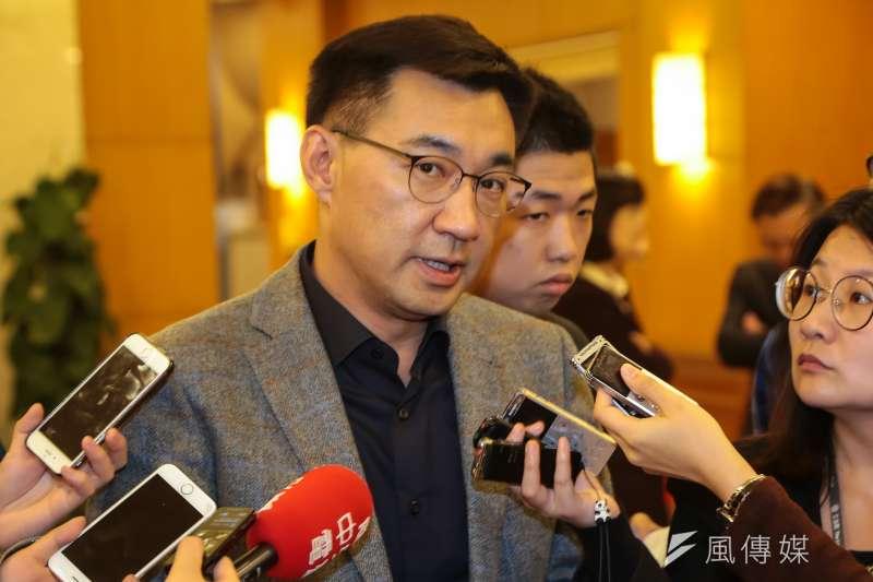國民黨立委江啟臣31日在台中豐原服務處正式宣布參選台中市長。(資料照,顏麟宇攝)
