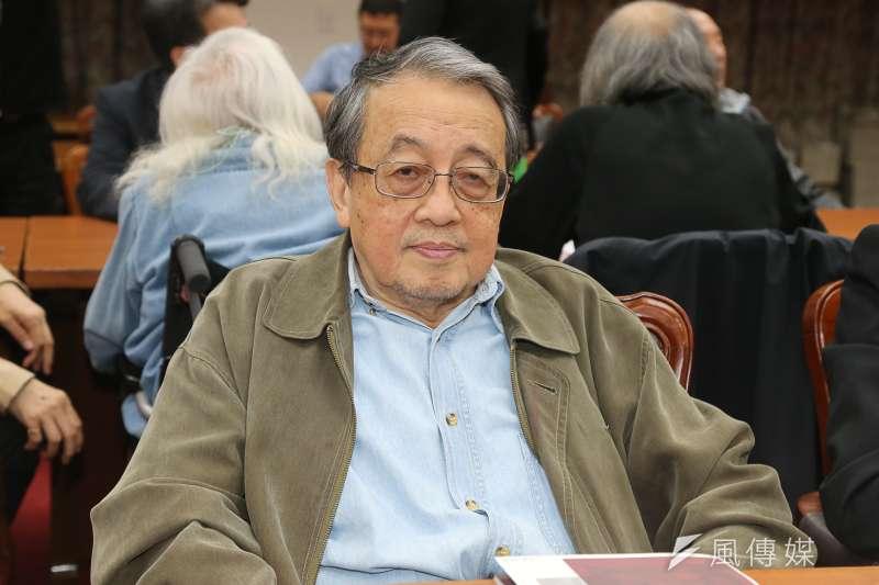 資深政治評論員林保華(陳明仁攝)