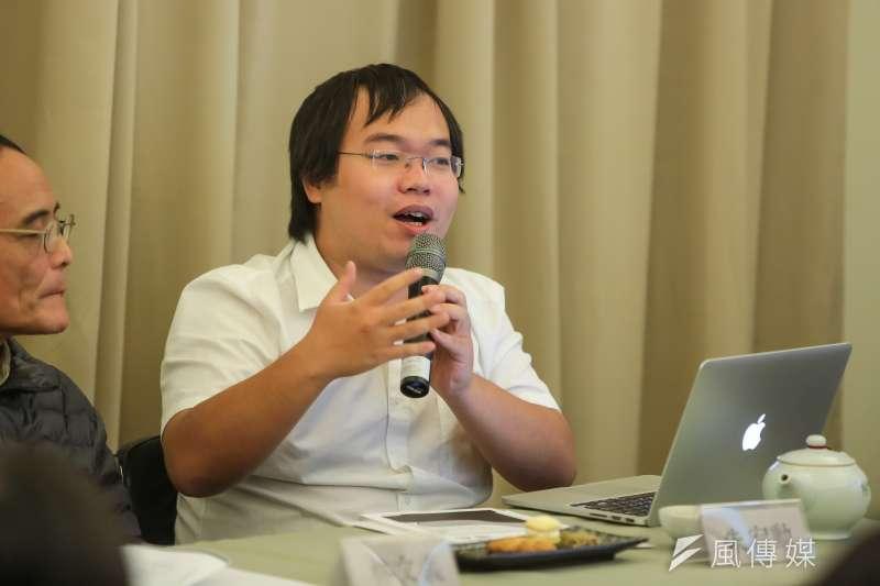 對於遭反同團體「救台盟」控告誹謗,朱宥勳12日表示,「我根本不在乎你們這些家長,你們自始至終都是台灣教育最大的毒瘤」。(資料照,顏麟宇攝)