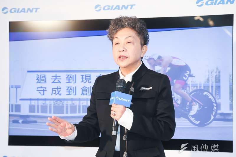 巨大集團董事長杜綉珍表示,原本以為中國的6個工廠可以「凸全世界」,供應全球自行車市場,但現在調整策略,強調在地生產;未來除了在歐洲生產自行車之外,更要生產自行車架。(資料照,陳明仁攝)
