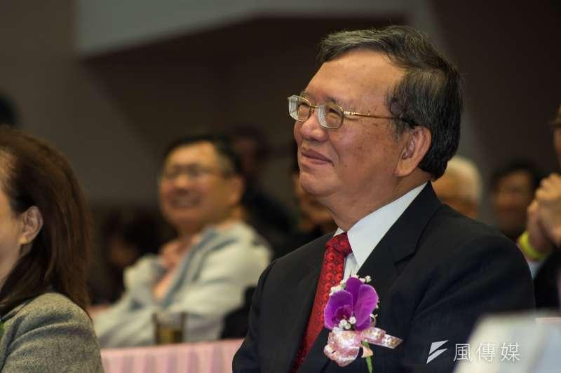 中華電董事長鄭優,他提出MOD分潤制度,一度造成紛爭。(資料照片,甘岱民攝)