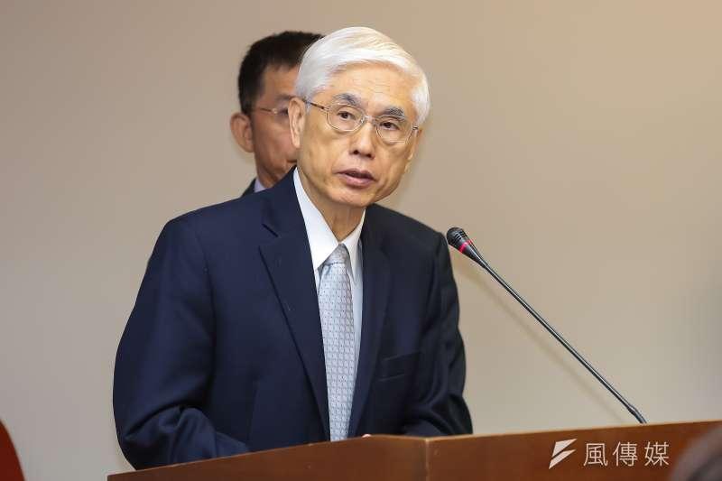 20161219-衛福部長林奏延19日於衛環委員會備詢。(顏麟宇攝)