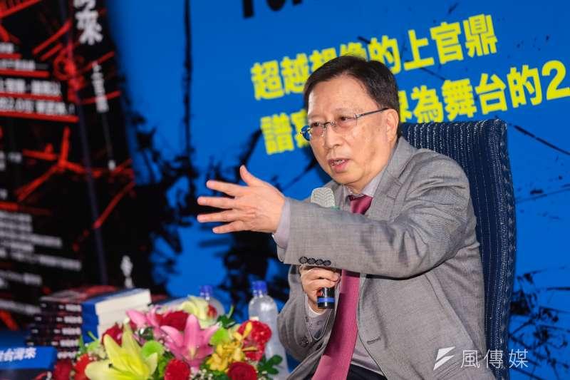20161222-上官鼎(前行政院長劉兆玄)22日召開「從台灣來」新書記者會。(顏麟宇攝)