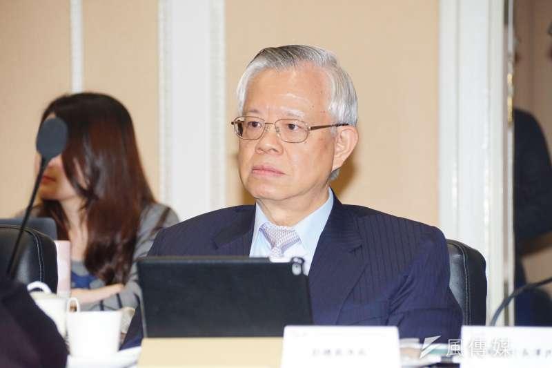 央行總裁彭淮南讓讓國內保持低物價,要為低薪資負責嗎?(盧逸峰攝)