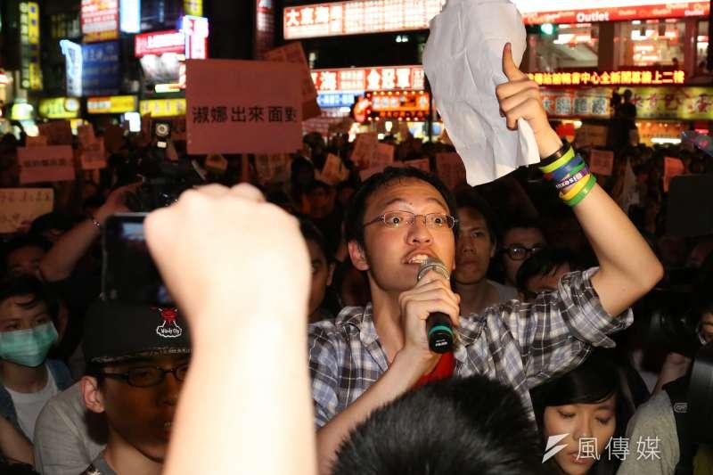 20140411-SMG0019-106-學生群眾包圍中正一分局,學生洪崇晏-余志偉攝.jpg