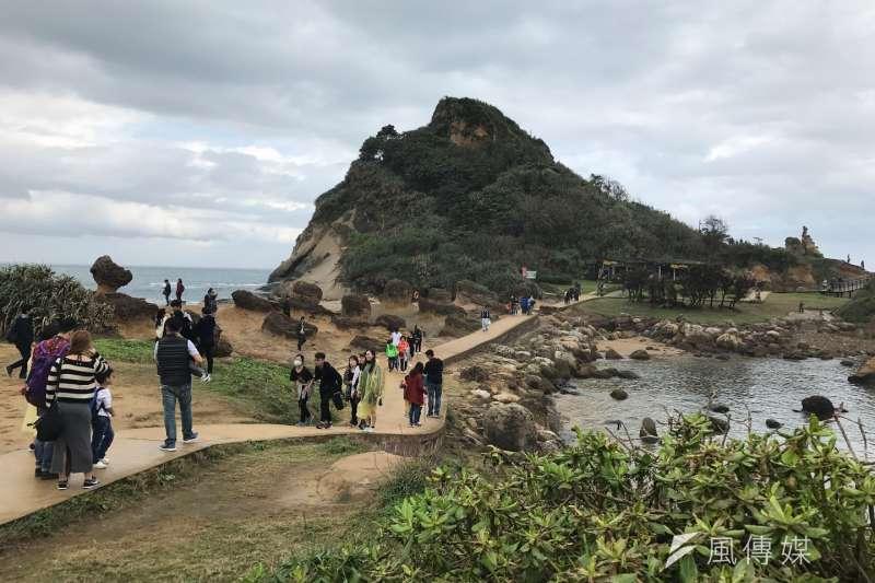 對岸緊縮陸客觀光產業衝擊大,圖為過去客必去的野柳。(資料照片,呂紹煒攝)