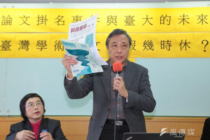劉源俊表示,對楊泮池來說,最好的選項就是宣布不續任台大校長,現在正好是任期之間,藉此挽救台大聲譽。(資料照,顏麟宇攝)