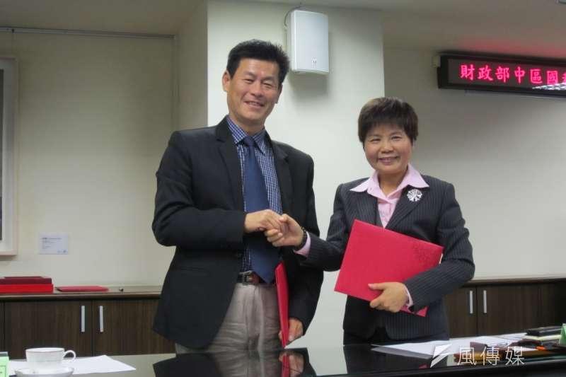 台北國稅局局長何瑞芳退休後,將由中區國稅局局長許慈美接任。(取自中科大)