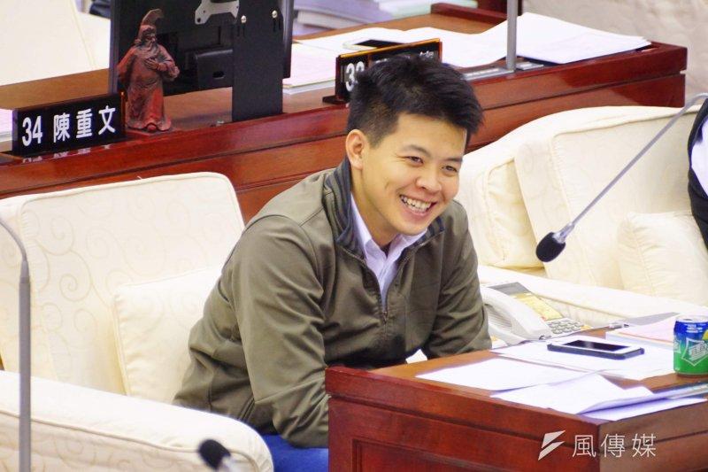20170109-台北市市議員謝維洲。(盧逸峰攝)
