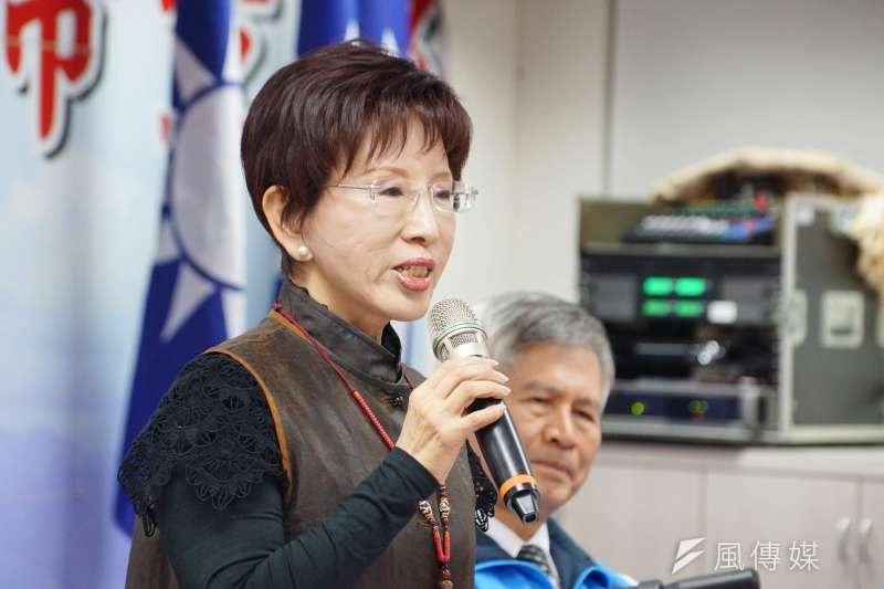 20170110-國民黨黨主席洪秀柱。(盧逸峰攝)