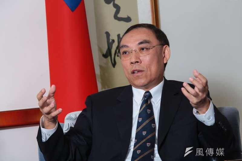 20170117-調查局長蔡清祥專訪。(顏麟宇攝)