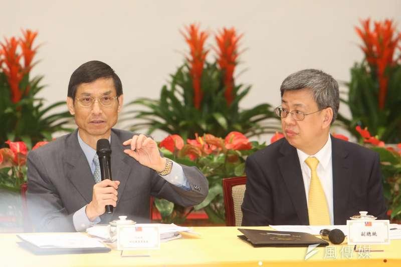 副總統陳建仁批評考試院提出的年金改革,沒有科學根據。(資料照片,陳明仁攝)