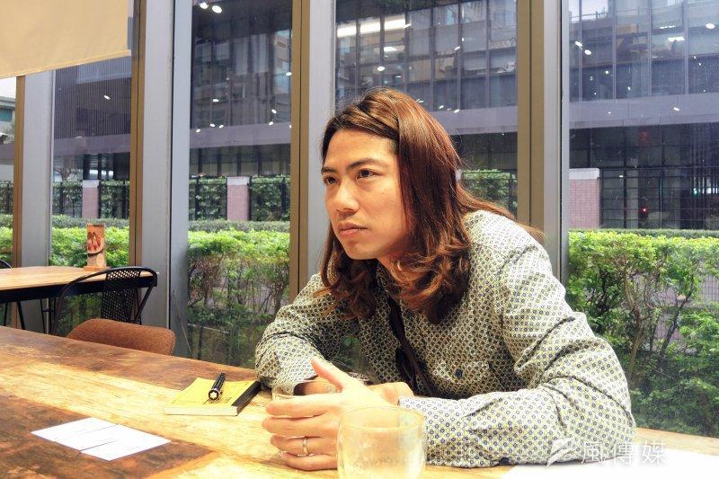 曾執導蔡英文、柯文哲的競選廣告,盧建彰眼裡的台灣,會是什麼樣子?(圖/薛怡青攝)