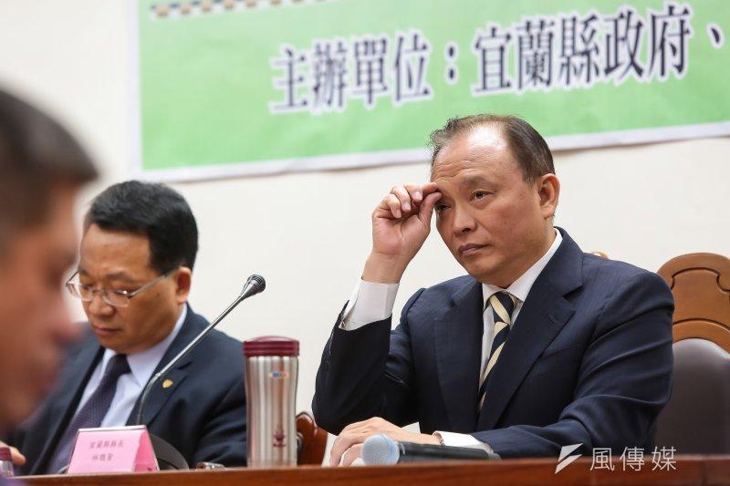 行政院日前宣布4部會首長改組,其中宜蘭縣長林聰先將接手農委會引起社會討論。(資料照,顏麟宇攝)