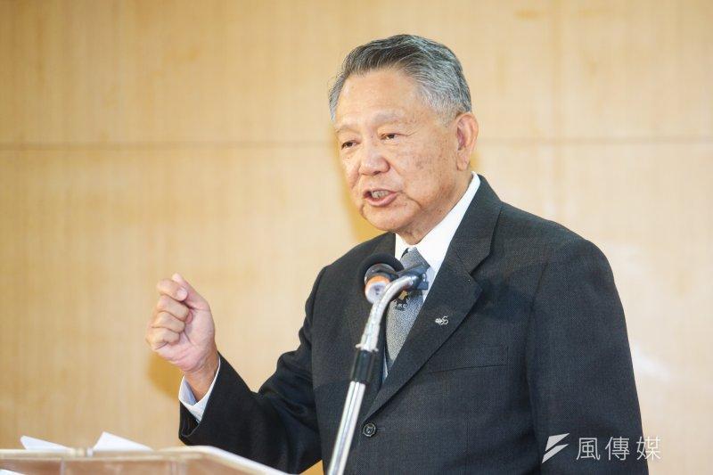 詹啟賢今(31)日到台南,他表示,未來無論誰當選黨主席,最重要的是繼續團結、合作。(資料照,陳明仁攝)