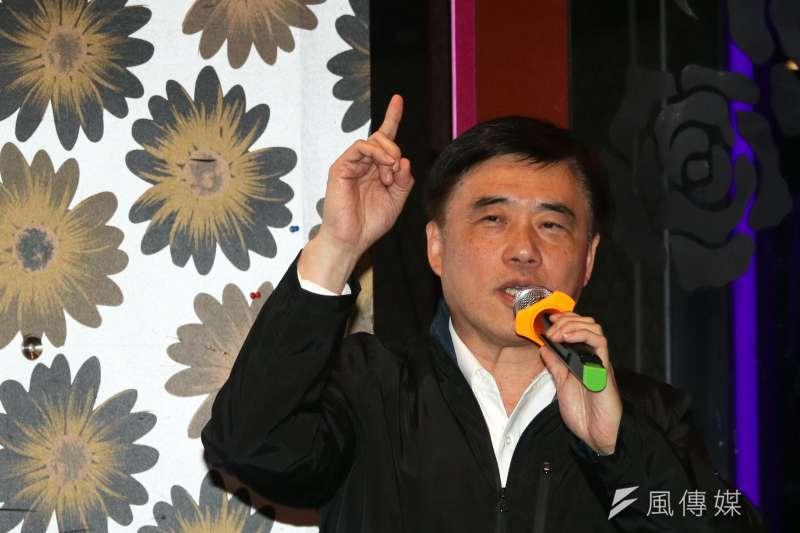 國民黨副主席郝龍斌郝龍斌表示,如果擔任黨主席會把台北市拿回來,穩住國民黨,更重要的是2020年重返執政。(資料照,蘇仲泓攝)