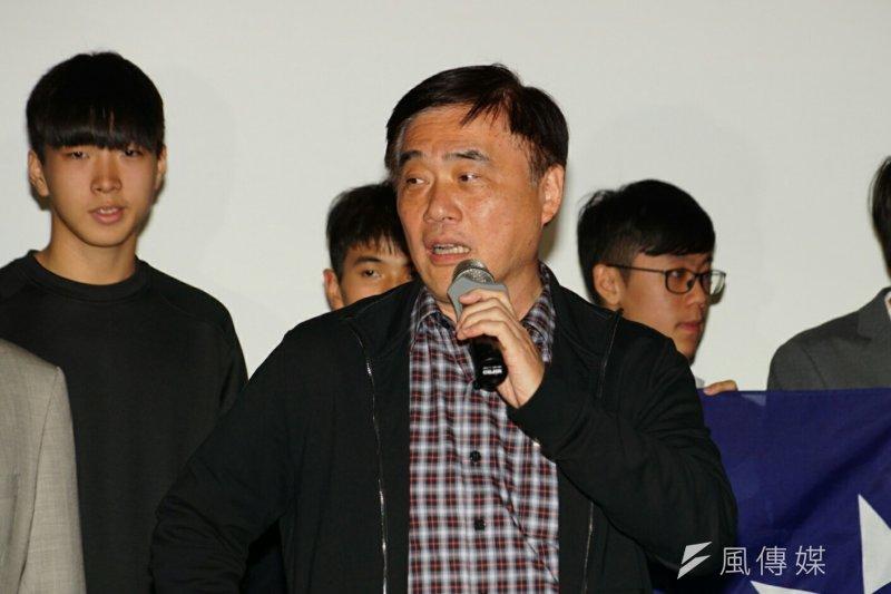 國民黨主席選舉,郝龍斌趨提出納入「民調」,其他參選人說「不」。(資料照/盧逸峰攝)