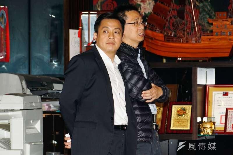 20170207-國民黨文傳會副主委李明賢。(盧逸峰攝)